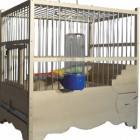 Ξύλινο κλουβί Λούξ 1018