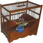 Ξύλινο κλουβί Λούξ 1018Β