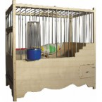 Ξύλινο κλουβί Λούξ 1020